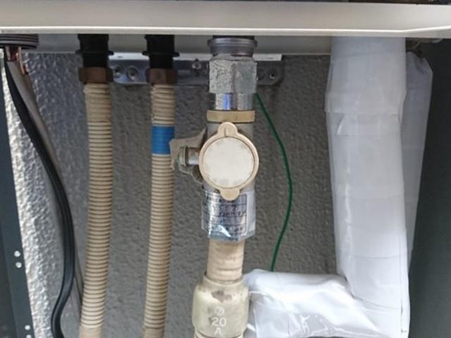 ガス給湯器配管