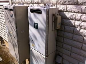 名古屋市天白区 ガスふろ給湯器取替工事 施工前