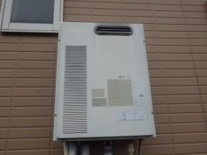 名古屋市北区 ガス給湯器取替工事 施工前