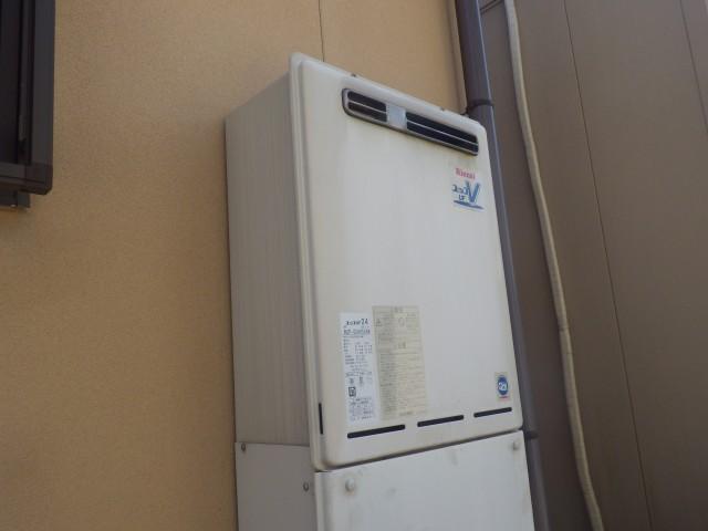 岩倉市 ガス給湯器取替工事 施工前